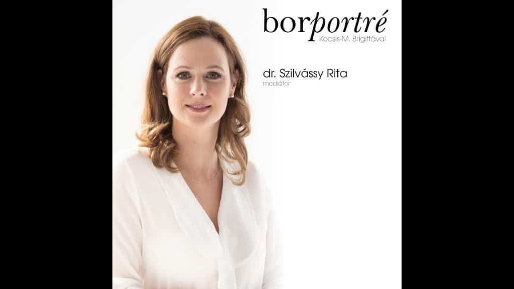 dr. Szilvássy Rita, válási mediátor   BorPortré 2020-04-14
