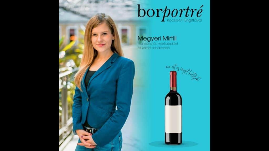 Megyeri Mirtill, karrier tanácsadó, Zyntern.com | BorPortré 2020-03-29