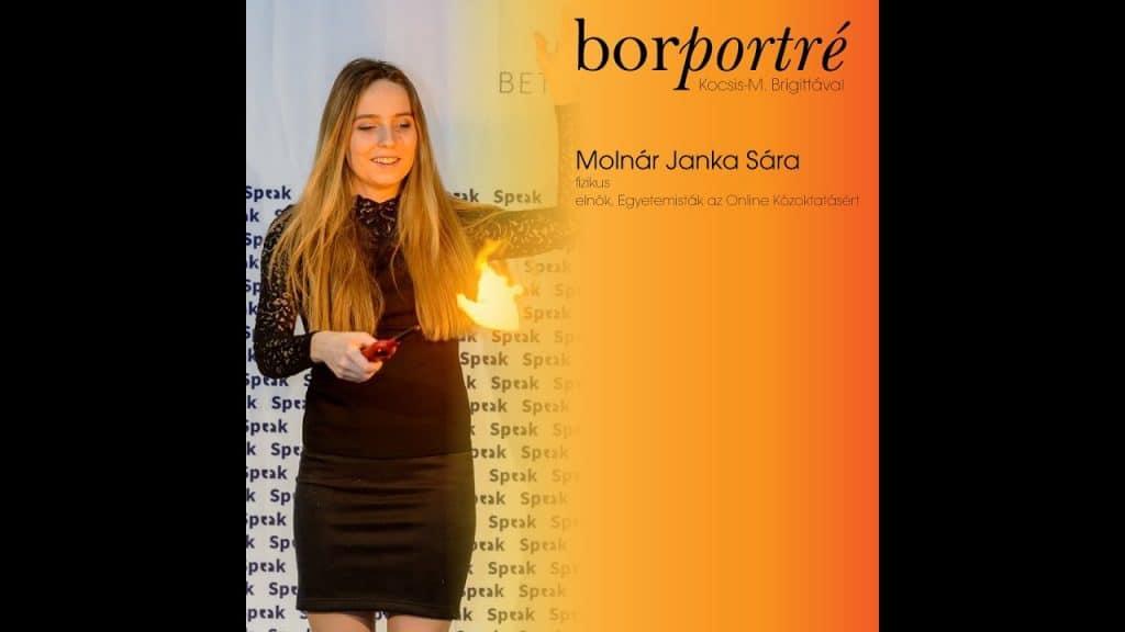 Molnár Janka Sára, OKTONDI-Egyetemisták az Online Közoktatásért   BorPortré 2020-04-10