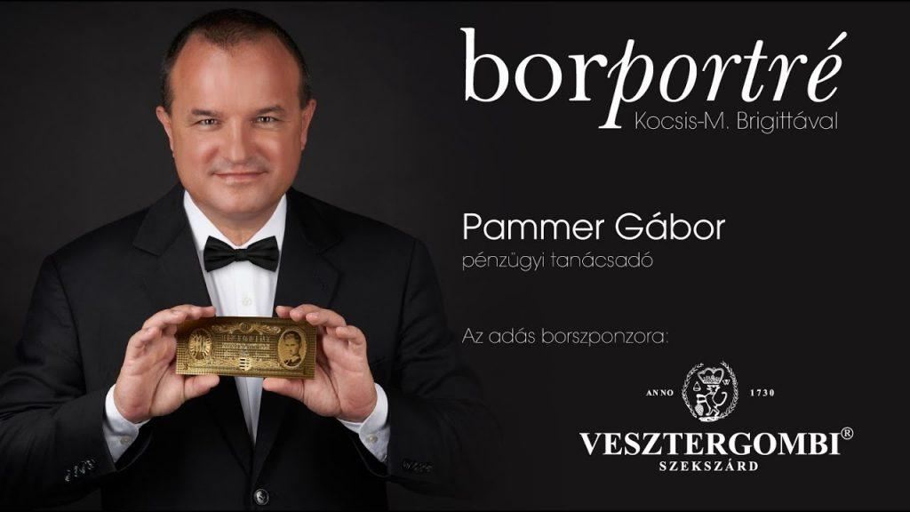 Pammer Gábor, pénzügyi tanácsadó | Borportré 2020-06-10