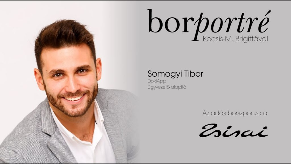 Somogyi Tibor, DokiApp   BorPortré 2020-04-24