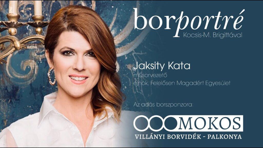 Jaksity Kata, a Felelősen Magadért Egyesület elnöke | BorPortré 2020-07-01