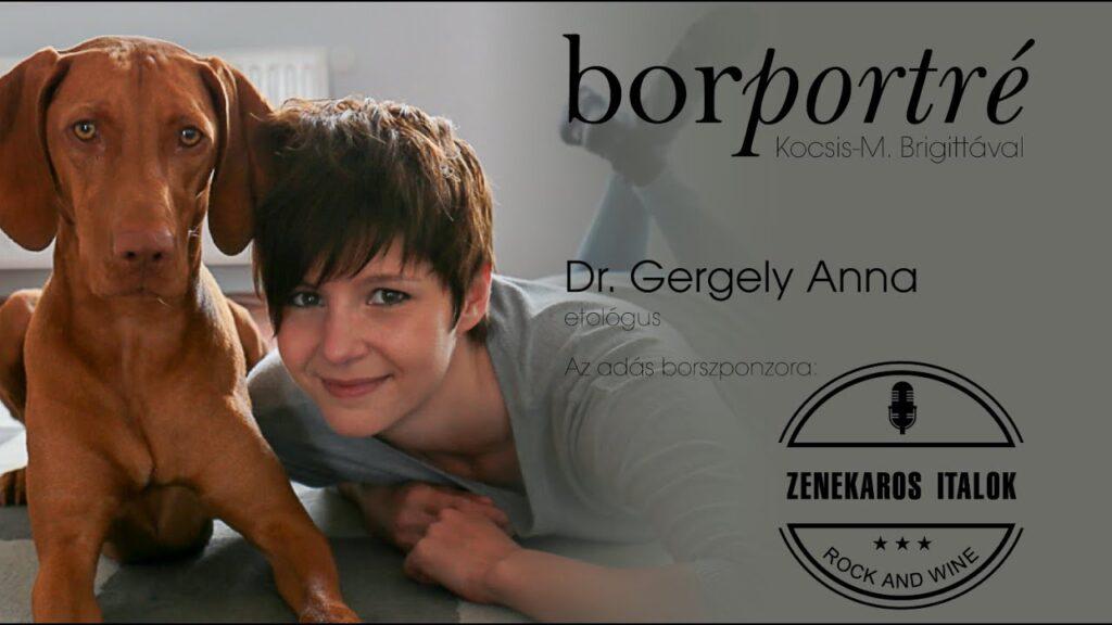 Dr. Gergely Anna, etológua | BorPortré 2020-09-09
