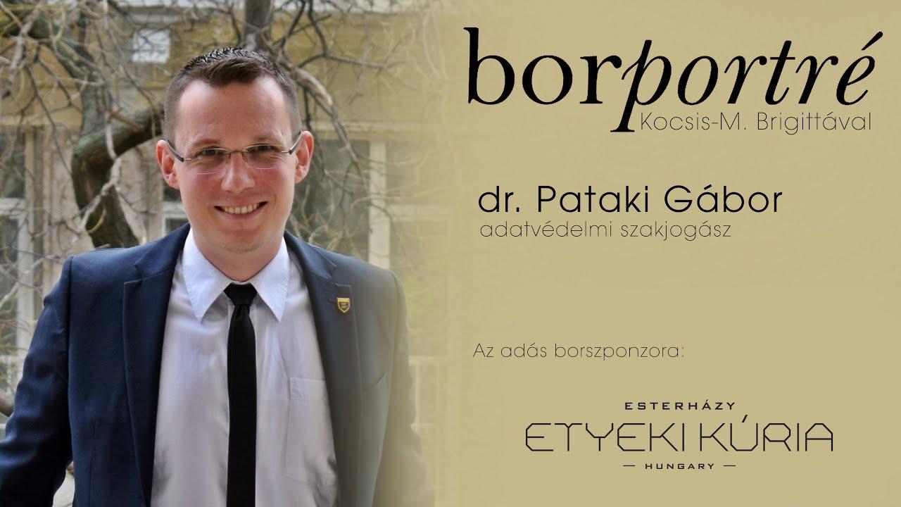 dr. Pataki Gábor, adatvédelmi szakjogász | BorPortré 2020-11-18
