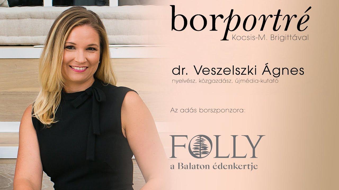 dr. Veszelszki Ágnes, nyelvész, újmédia-kutató | BorPortré 2020-11-25