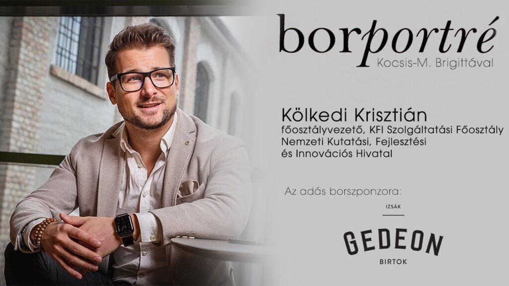 Kölkedi Krisztián, Hungarian Startup University Program | BorPortré 2020-11-04