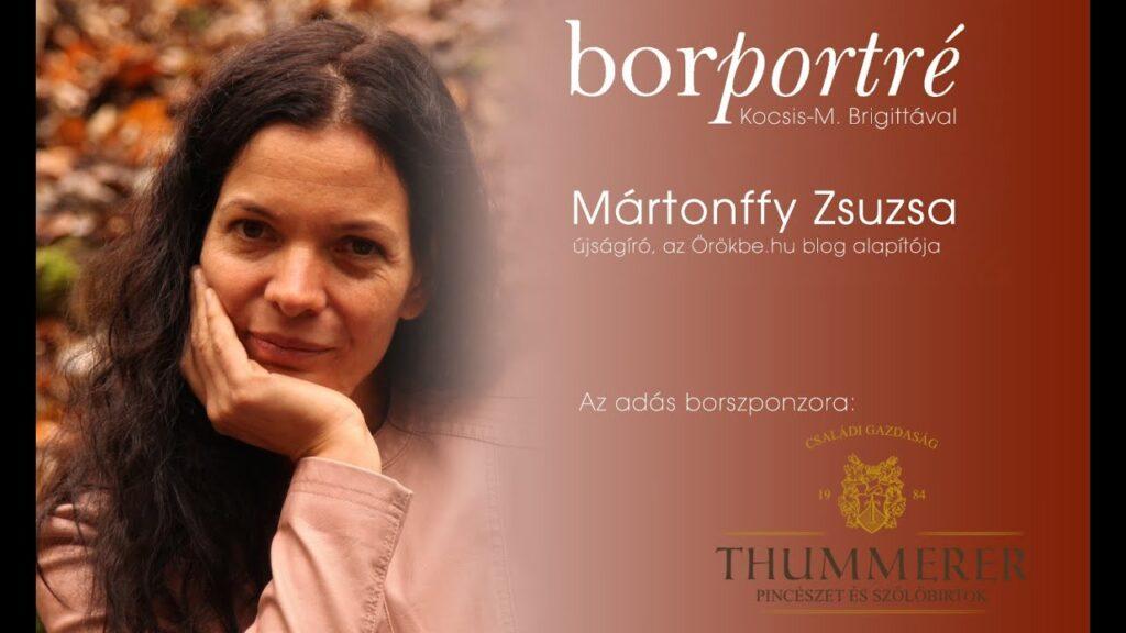 Mártonffy Zsuzsa, Örökbe.hu | BorPortré 2020-11-11