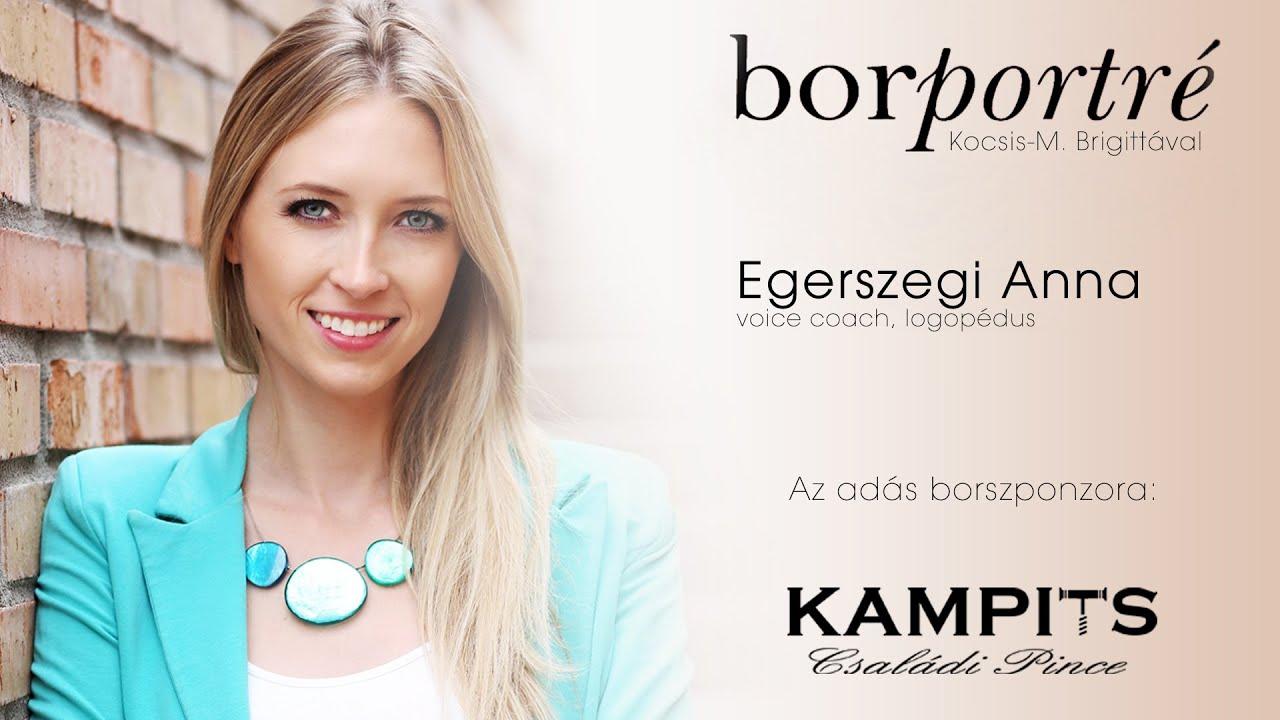 Egerszegi Anna, voice coach, logopédus | BorPortré 2020-12-02