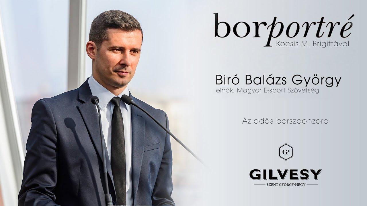 Biró Balázs György, Magyar E-sport Szövetség | BorPortré 2021-02-17