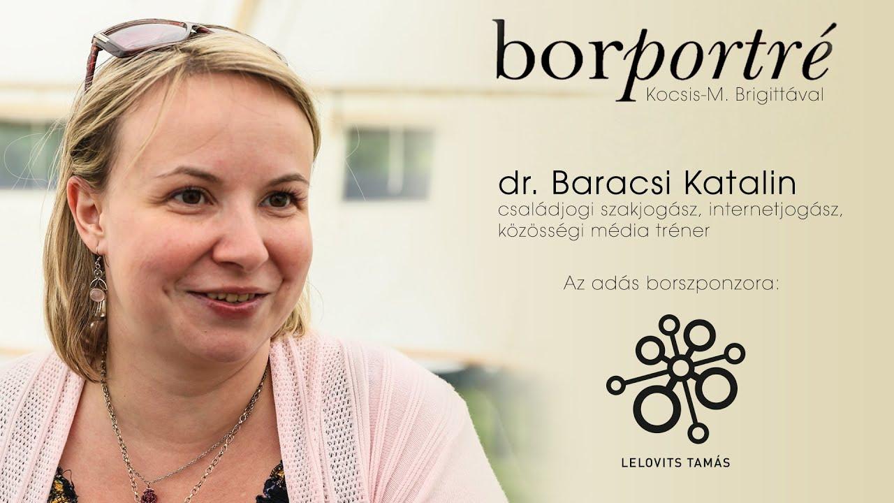 dr. Baracsi Katalin, internetjogász | BorPortré 2021-02-10