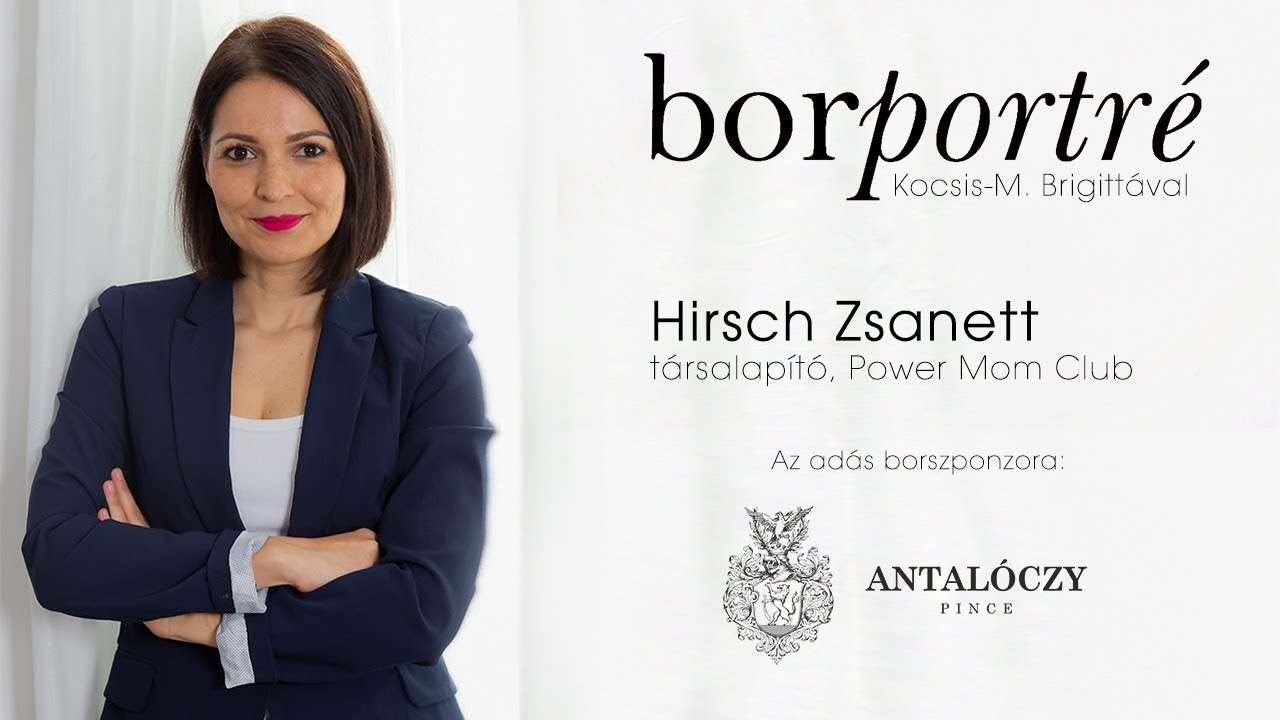 Hirsch Zsanett, Power Mom Club | BorPortré 2021-03-24
