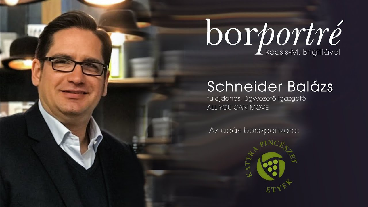 Schneider Balázs, ALL YOU CAN MOVE SportPass | BorPortré 2021-03-17
