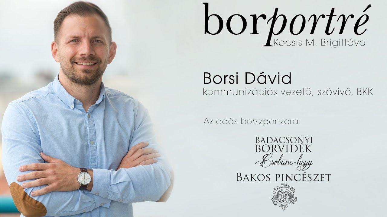 Borsi Dávid, BKK | BorPortré 2021-04-21