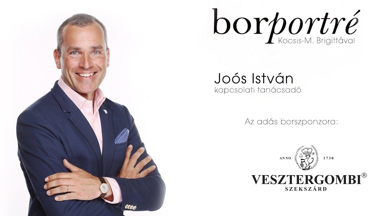 Joós István, Énakadémia   BorPortré 2021-04-07